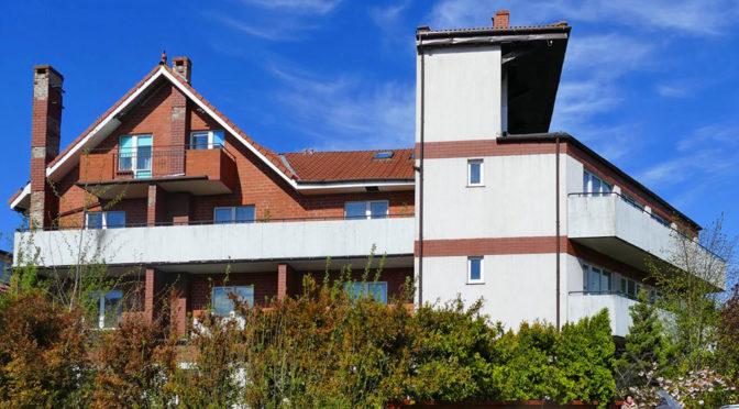 nowoczesna bryła ekskluzywnej rezydencji do sprzedaży Kołobrzeg