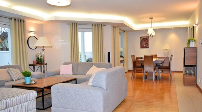 efektowne i nowoczesne wnętrze luksusowej rezydencji do sprzedaży Ostrów Wielkopolski