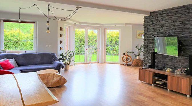 ekskluzywny salon w luksusowej rezydencji do sprzedaży Wisła