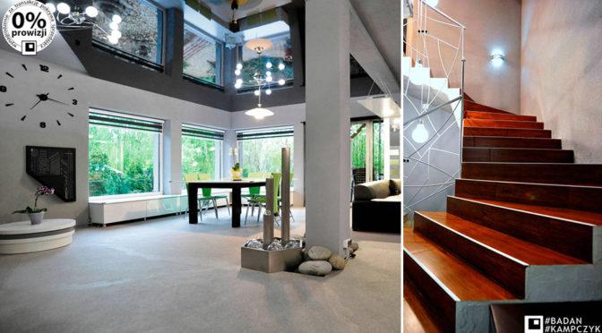 nowoczesne, prestiżowe wnętrze luksusowej rezydencji do sprzedaży Gliwice (okolice)