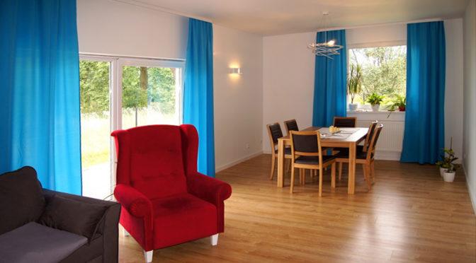 stylowo wykończony salon w ekskluzywnej rezydencji do sprzedaży Toruń