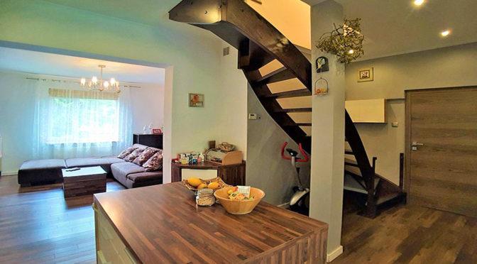 nowoczesne, 2-poziomowe wnętrze luksusowej rezydencji do wynajęcia Łódź