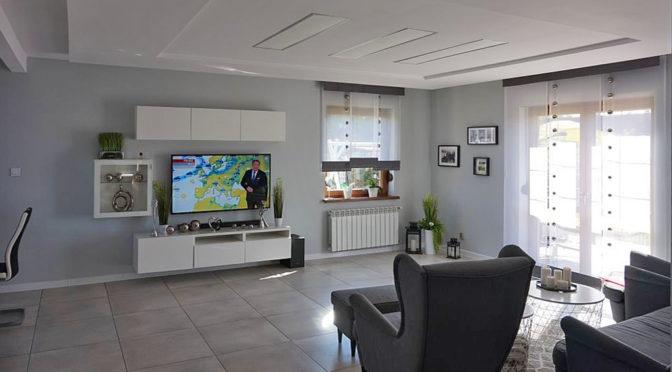 luksusowy salon w ekskluzywnej rezydencji do sprzedaży Leszno (okolice)