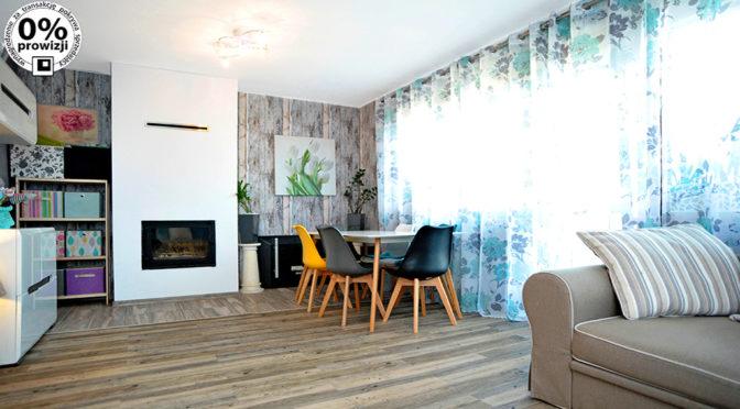 prestiżowy salon z kominkiem w ekskluzywnej rezydencji do sprzedaży Gliwice (okolice)