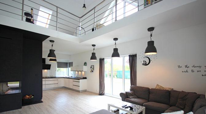 nowoczesne wnętrze luksusowej rezydencji do wynajęcia Szczecin (okolice)