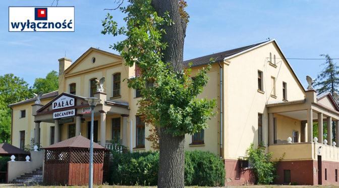 front oraz reprezentacyjne wejście do ekskluzywnej rezydencji do sprzedaży Inowrocław (okolice)