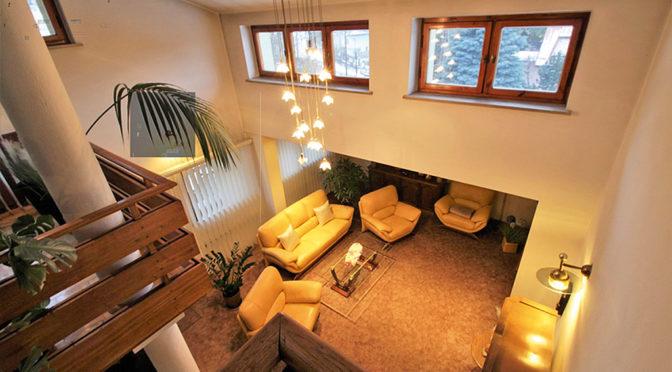 widok z góry na luksusowy apartament na sprzedaż Kraków