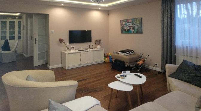 nowocześnie zaprojektowane wnętrze ekskluzywnej rezydencji do sprzedaży Leszno