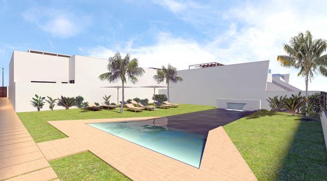 basen przed ekskluzywną rezydencję do sprzedaży San Pedro Del Pinata (Hiszpania)