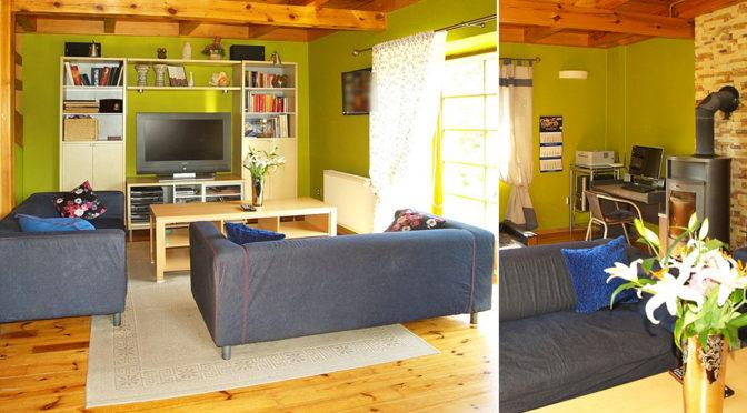 komfortowy salon w luksusowej rezydencji do sprzedaży Starogard Gdański
