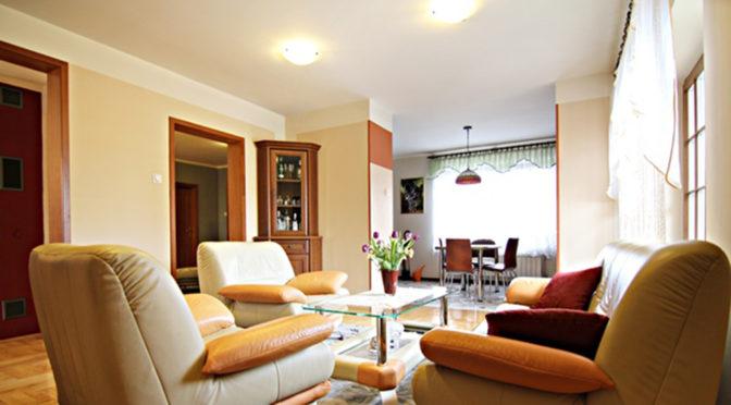 elegancki salon w luksusowej rezydencji na sprzedaż Wieluń (okolice)