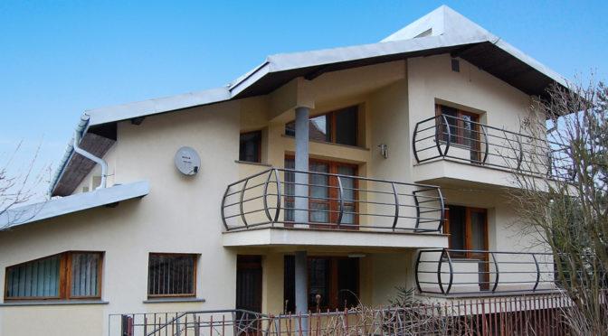 nowoczesny projekt ekskluzywnej rezydencji do sprzedaży Kraków