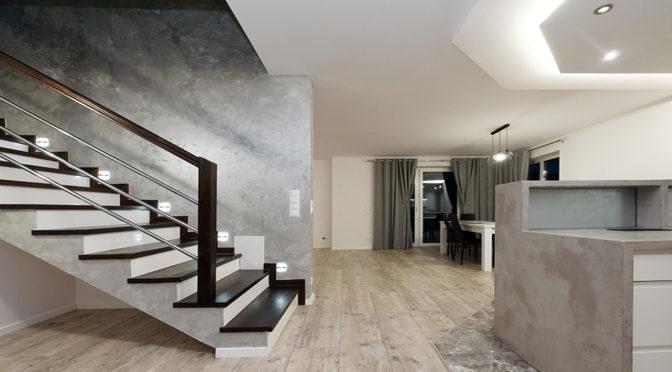 nowoczesny design wnętrza luksusowej rezydencji do sprzedaży Tarnów (okolice)
