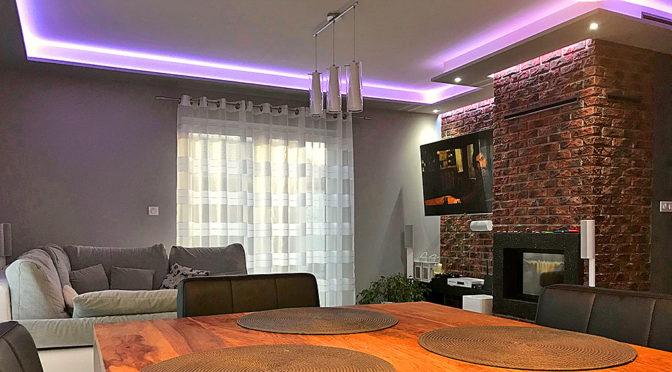 nowoczesny design wnętrza ekskluzywnej rezydencji do sprzedaży Konin (okolice)