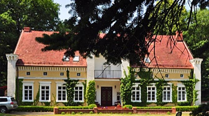 front ekskluzywnej rezydencji do sprzedaży Koszalin