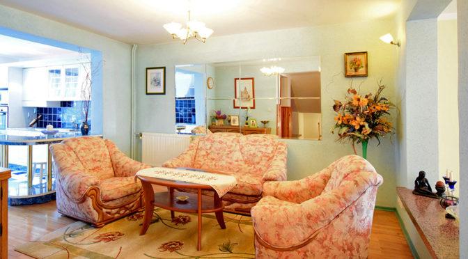 kameralny salon w ekskluzywnej rezydencji do sprzedaży Suwałki