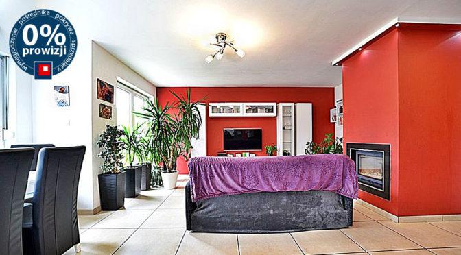 komfortowy pokój dzienny w luksusowej rezydencji na sprzedaż Zgorzelec (okolice)