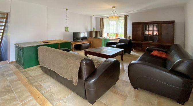 komfortowy salon w ekskluzywnej rezydencji do wynajęcia Szczecin