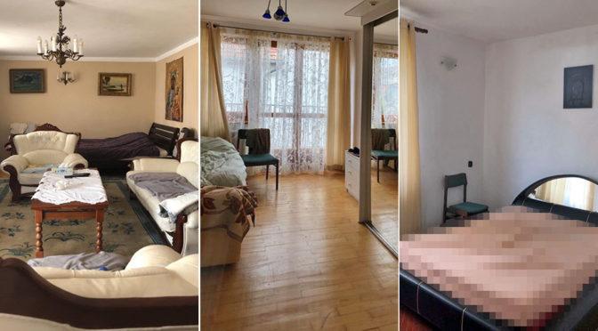 trzy ujęcia komfortowego wnętrza luksusowej rezydencji na wynajem Szczecin