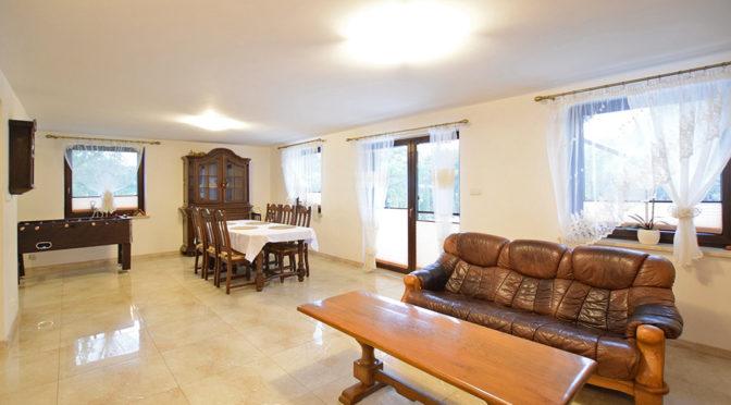 wytworny salon w ekskluzywnej rezydencji do sprzedaży Suwałki (okolice)
