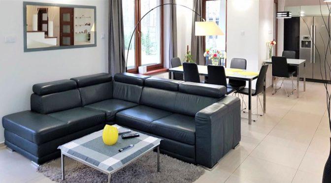 prestiżowy pokój dzienny w ekskluzywnej rezydencji na sprzedaż Łódź (okolice)