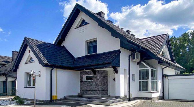 nowoczesny projekt luksusowej rezydencji na sprzedaż Dąbrowa Górnicza (okolice)