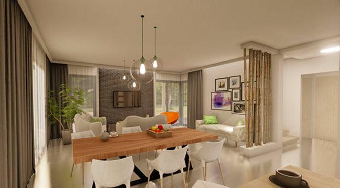 komfortowy salon w ekskluzywnej rezydencji do sprzedaży Katowice