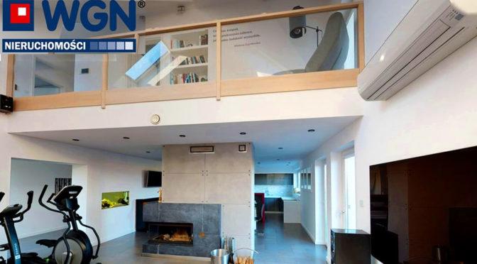 2-poziomowe wnętrze luksusowej rezydencji na sprzedaż Tczew (okolice)