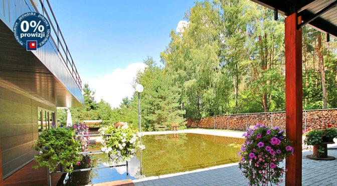 prywatny basen przy ekskluzywnej rezydencji do sprzedaży Poznań (okolice)