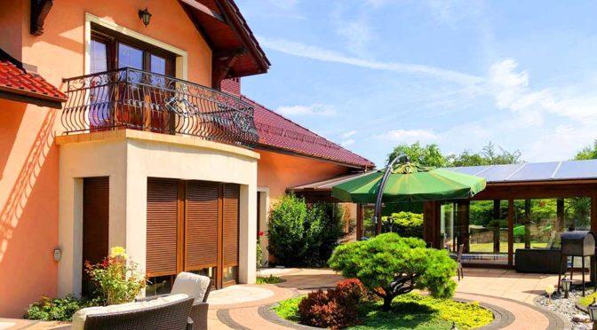 reprezentacyjne wejście do luksusowej rezydencji do sprzedaży Trzebinia