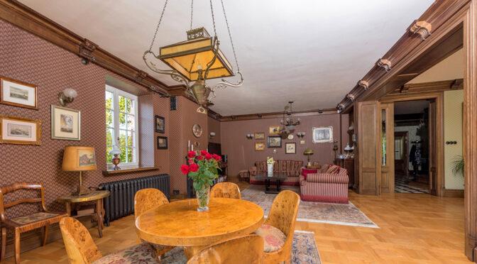 kameralne wnętrze luksusowej rezydencji na sprzedaż Łódź