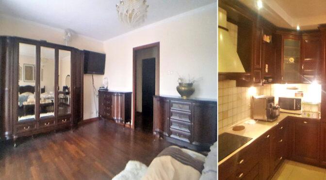 stylowe wnętrze salonu w ekskluzywnej rezydencji do sprzedaży Łódź