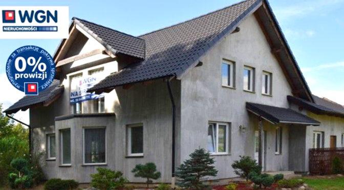 imponująca rozmachem bryła luksusowej rezydencji na sprzedaż Słupsk (okolice)