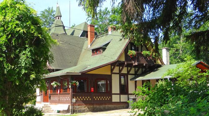 zielona okolica, w której znajduje się oferowana na sprzedaż ekskluzywna rezydencja Szklarska Poręba