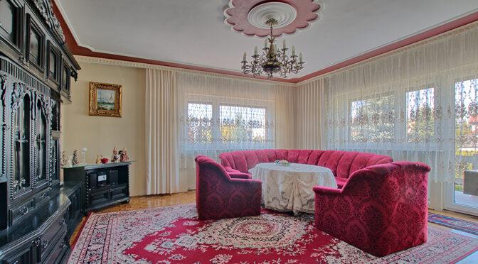 wytworne wnętrze luksusowej rezydencji na wynajem Swarzędz