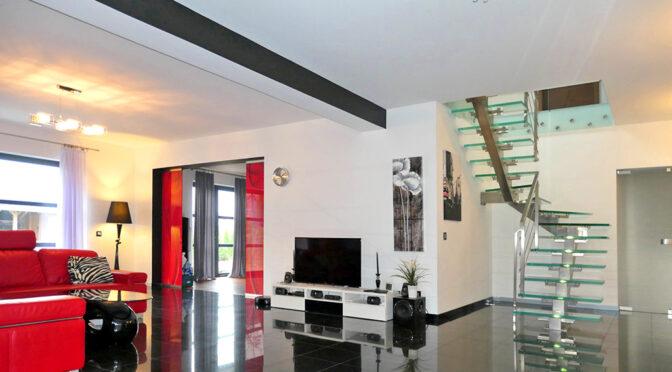 ultra nowoczesne wnętrze luksusowej rezydencji do sprzedaży Kwidzyn