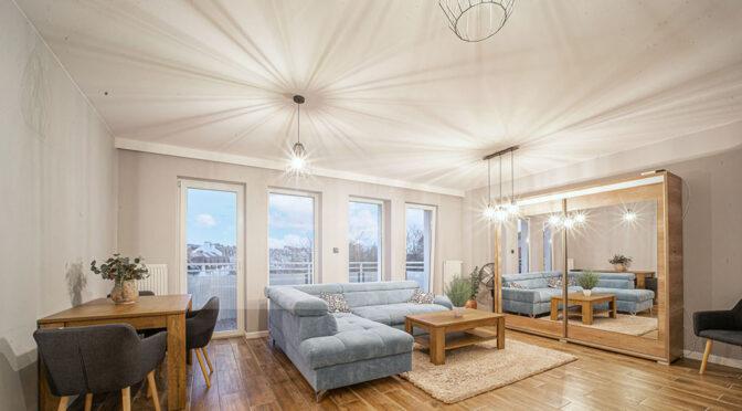 komfortowy pokój gościnny w ekskluzywnym apartamencie na sprzedaż Bolesławiec