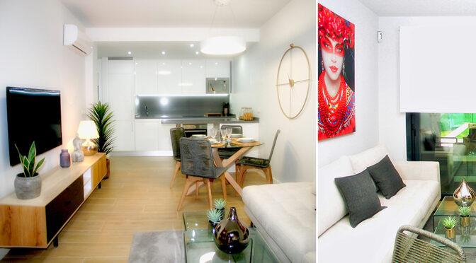 imponujące bogactwem wnętrze ekskluzywnego apartamentu na sprzedaż Hiszpania (Orihuela Costa, Villamartin)