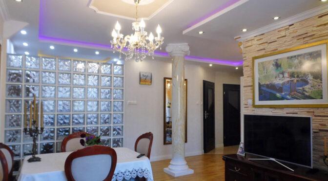 eleganckie wnętrze luksusowego apartamentu na sprzedaż Malbork