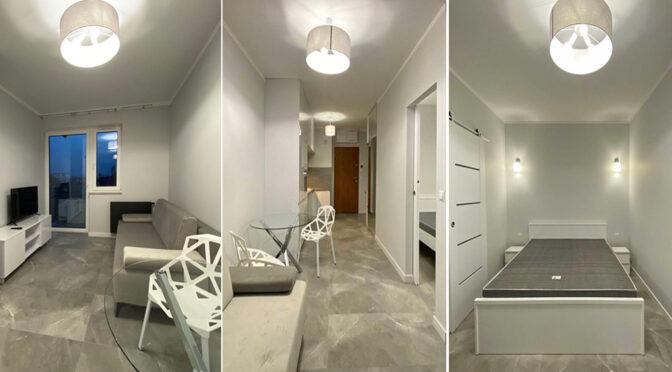 3 ujęcia komfortowego wnętrza luksusowego apartamentu na sprzedaż Szczecin