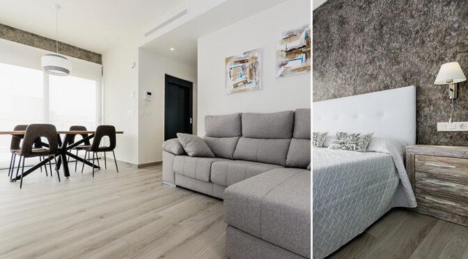 imponujące bogactwem i rozmachem wnętrze luksusowego apartamentu do sprzedaży Hiszpania