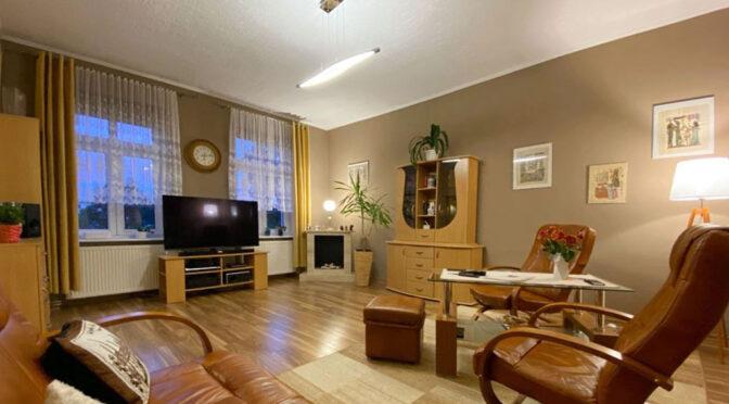 kameralny salon w ekskluzywnym apartamencie do sprzedaży Szczecin