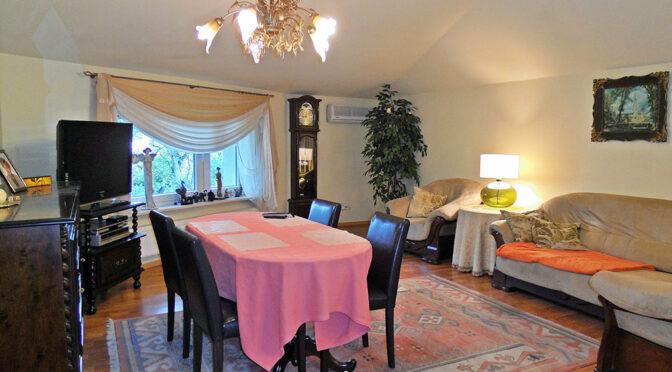 elegancki salon w luksusowym apartamencie do wynajęcia Częstochowa
