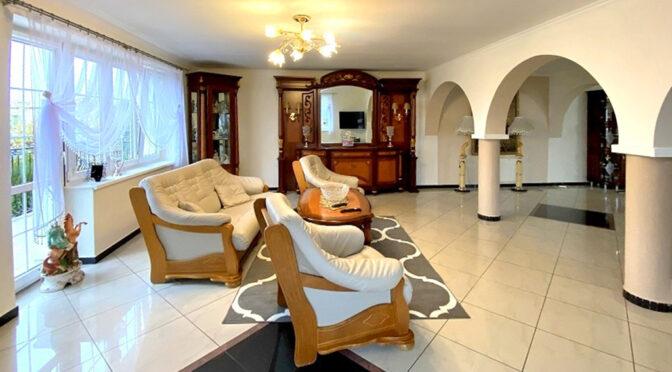 eleganckie i stylowe wnętrze luksusowej rezydencji na sprzedaż Inowrocław