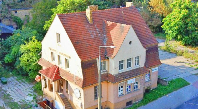 widok z lotu ptaka na ekskluzywną rezydencję do sprzedaży Gorzow-Wielkopolski