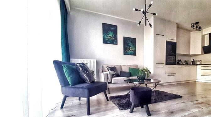 minimalistyczna aranżacja wnętrza luksusowej rezydencji do sprzedaży Leszno