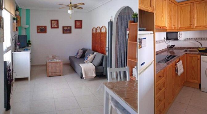 urządzone w śródziemnomorskim stylu wnętrze luksusowego apartamentu na sprzedaż Hiszpania (Costa Blanca, Torrevieja)