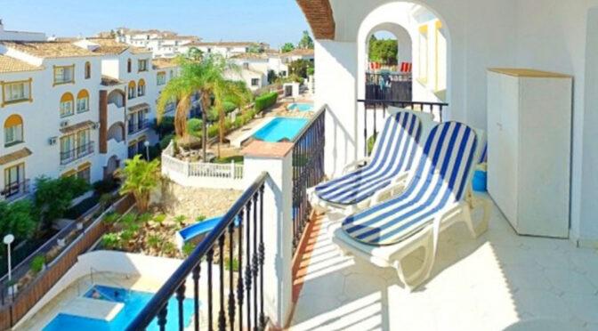 widokowy taras przy luksusowym apartamencie na sprzedaż Hiszpania (Costa Del Sol, Malaga)