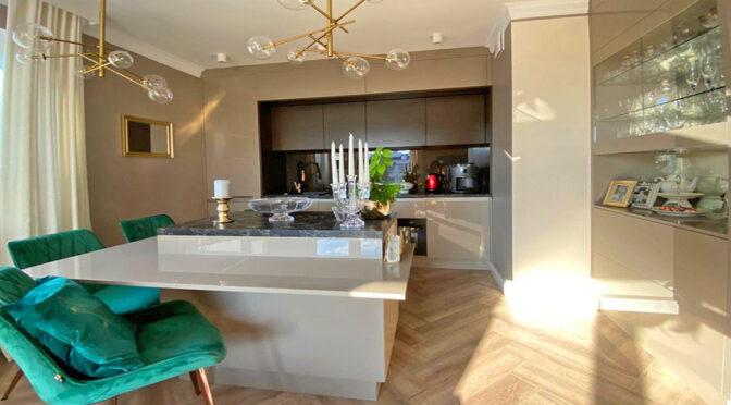 zachwycające prestiżem wnętrze luksusowego apartamentu na sprzedaż Szczecin