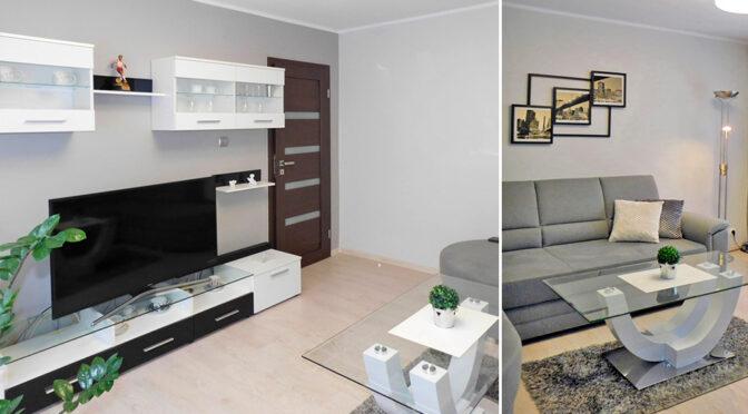 nowoczesne wnętrze ekskluzywnego apartamentu do wynajęcia Ostrów Wielkopolski